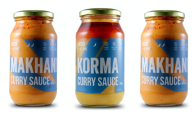 Cassia at Home Sauces- 3 Jar pack- Makhani x 2, Korma x 1