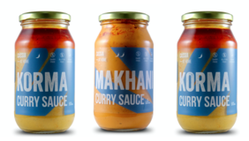 Cassia at Home Sauces- 3 Jar Pack-  Korma x 2, Makhani x 1